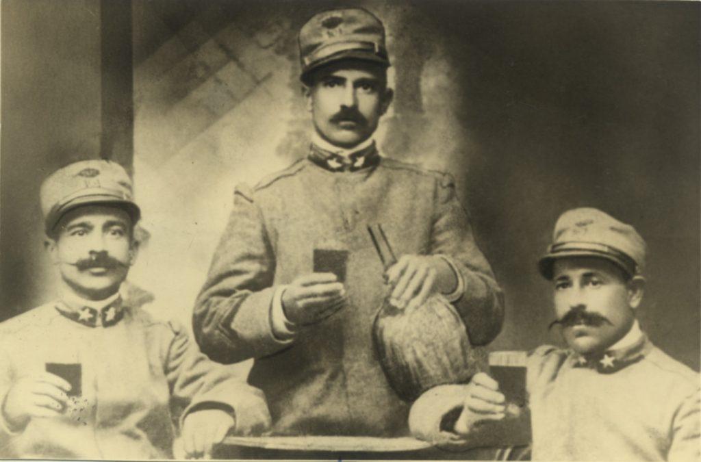 Ricordi di guerra, 1915-18